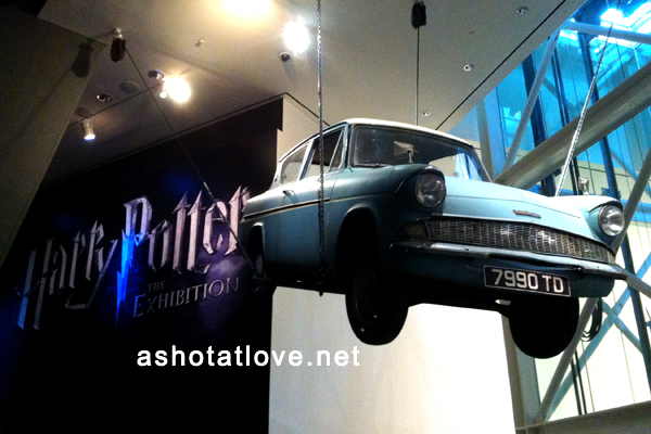 Flying Ford Anglia