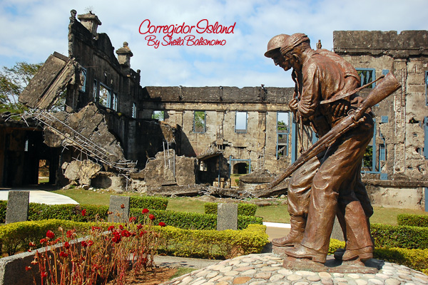 Statue in Corregidor