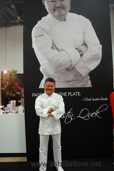 Celebrity Chef Justin Quek