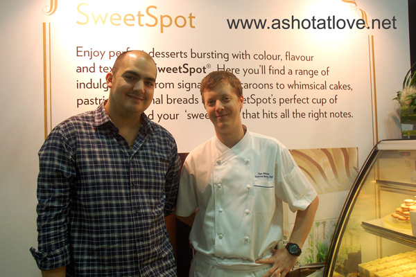 Chef Alex Luna and Ryan Witcher