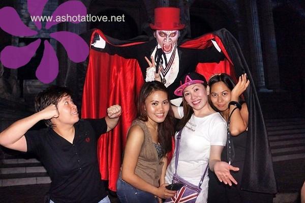 Cel, Liza, Jacky and I