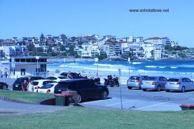 at Bondi Beach
