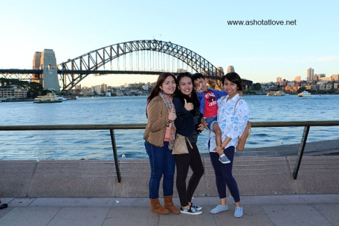 at Harbour Bridge